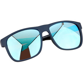 Alpina Nacan III Glasses indigo matt/blue mirror